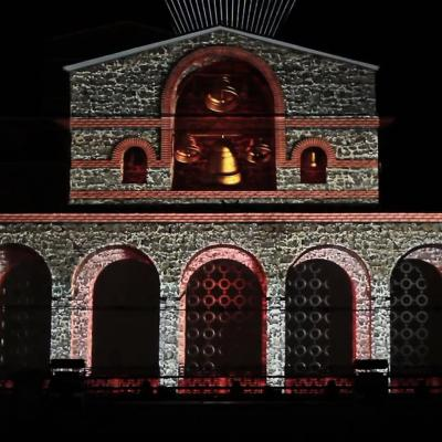 3D Performance for Feast Day of Veliko Tarnovo 2015